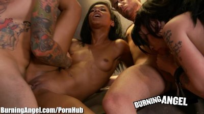 Burning Angel Sex Slaves Skin Diamond and Kelly Chaos