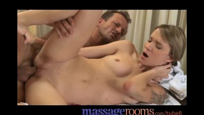 Massage Rooms Young teen beaut