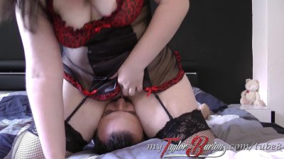 BBW Taylor-Burton - Blowjob und Facesitting