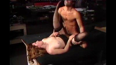 Black lingerie girl passion fucking