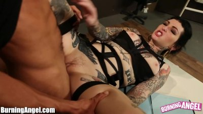 BurningAngel Sexy Emo Adahlia Interracial Suck and Fuck