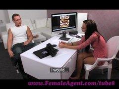 FemaleAgent. Massive cumshot from seasoned veteran