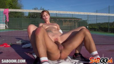 Young Euro Redhead in a Training Fuck
