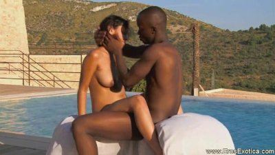 Ebony Outdoor Sex Techniques