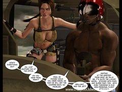 Preview 2 of 3d Comic: Clara Ravens. Episode 1