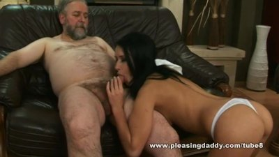 Young Trophy Wife Fucks Old Husband