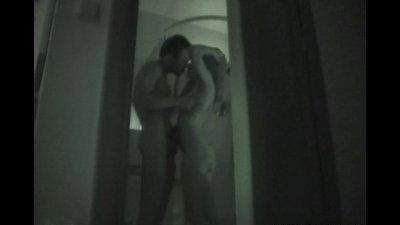 Secret toilet rendezvous