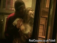 Preview 2 of Risky Daring Sex In Public And Flashing