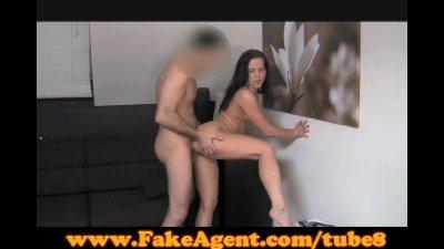 FakeAgent Surprise creampie for hot amateur