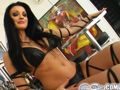 Preview 2 of Aletta Ocean Gets Bukkaked By Five Massive Loads Of Cum