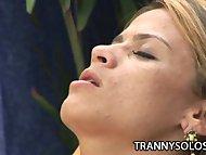 Kamila Smith - Naughty Shemale Beating Her Throbbing Cock