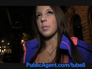 PublicAgent Anita shows me her ass then bends over and gets fucked for cash