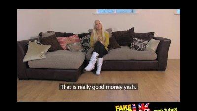 FakeAgentUK Quick cash needed for Czech girl with an amazing ass