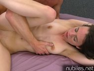 Veronica Radke gets fucked and spooged