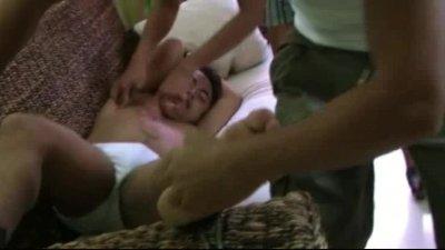 Chubby Boys Are Ticklish Too