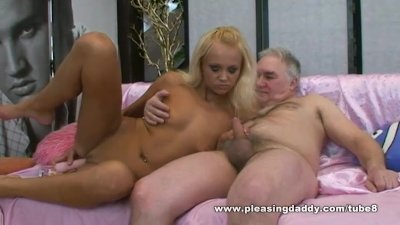 Bleach Blond Czech Slut Eliss Fire Fuck Fat Mature Man With Tiny Cock