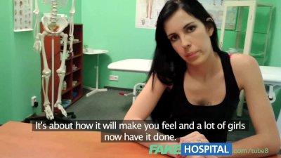 Fake Hospital Squirting MILF w