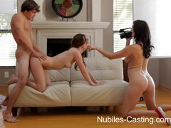 Nubiles casting - ca hottie wants to be a pornstar