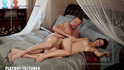 Couple make a sex tape with Playboy tv