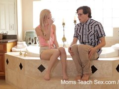 Preview 1 of Moms Teach Sex - He Finally Gets To Fuck His Stepmom!