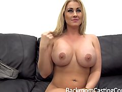 Preview 5 of Big Tit Milf Assfuck Casting
