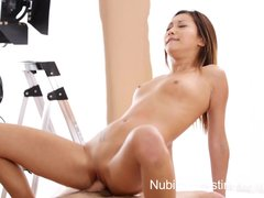 Preview 6 of Nubiles Casting - Squirting Asian Teen Really Wants This Job