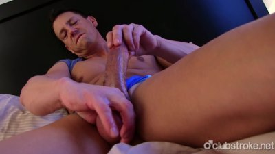 Handsome Straight Ryan Jerks His Giant Cock