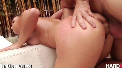 HardX Lily Love's Hot Oil Massage