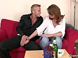 busty bitch is picked up and fuckedPorn Videos