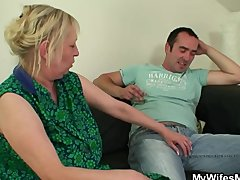 I found my mother with dick in the mouth