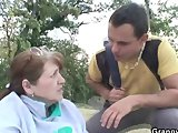 injured granny is healed by young dickPorn Videos