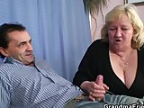 blonde granny gets slammed by two dicksPorn Videos