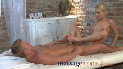 Massage Rooms Beautiful blonde