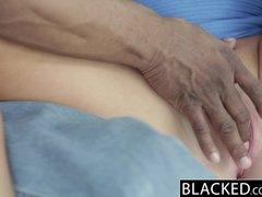 BLACKED Hot Blonde Teen Takes Huge Black Cock