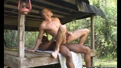 Two Gay Hunks went hiking then Fuck