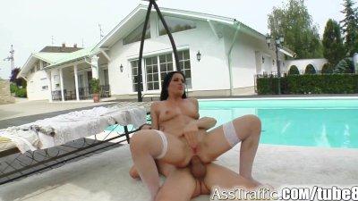 Ass Traffic Chick gets her ass