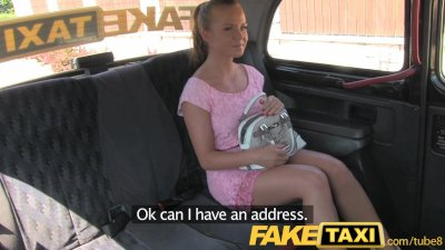 FakeTaxi Petite hot Czech girl