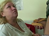 he picks up and bangs old fattyPorn Videos