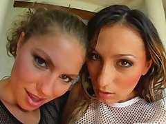 Prime Cups Two perfect tit bitches get fucked and cum swap