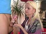 old bitch jumps on big meatPorn Videos