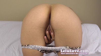 Lelu Love-Spreading Cum On Pussy Masturbation