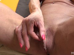 Ashlee Chambers Plays With Her Big Clit