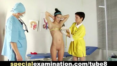 Gyno examination for college girl