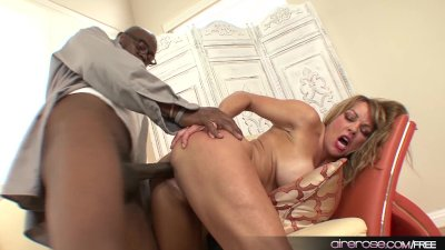 Airerose Slutty MILF Takes Down a Big Black Cock