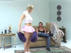 Preview 3 of Busty Cheerleader Fucked Raw