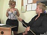 office bitch enjoys riding his rodPorn Videos