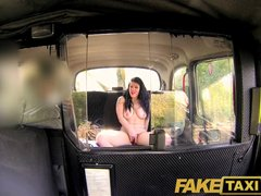 Preview 8 of Faketaxi Her Choice Is Get Out And Walk Or Suck His Cock