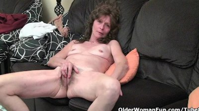 Hairy granny pussies that need a good...