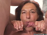 Granny porn/two naughty granny dicks young