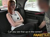 faketaxi elegant ginger women fucks driver in her black lace thongPorn Videos